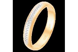 кольцо обручальное с бриллиантом  1049111