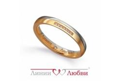 кольцо обручальное с бриллиантом  Л22101211