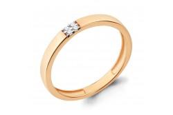 кольцо обручальное с бриллиантом  960800к