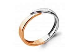 кольцо обручальное с бриллиантом  961686к